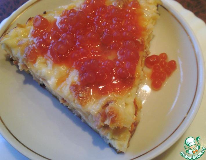 Рецепт: Желированный соус из квашеных помидоров