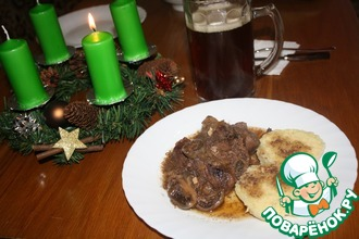 Рецепт: Рагу из оленины по-шотландски