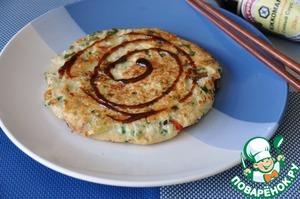 Okonomiyaki in Russian
