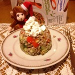 Гречневый салат с овощами и фетой