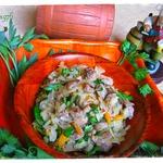 Салат из квашеной капусты Баварский
