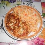 Рисовая каша с овощами на гарнир