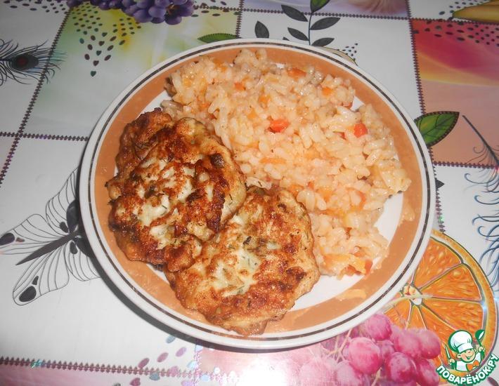 Рецепт: Рисовая каша с овощами на гарнир