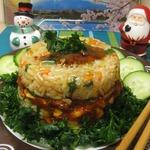 Мясо с рисом по-японски