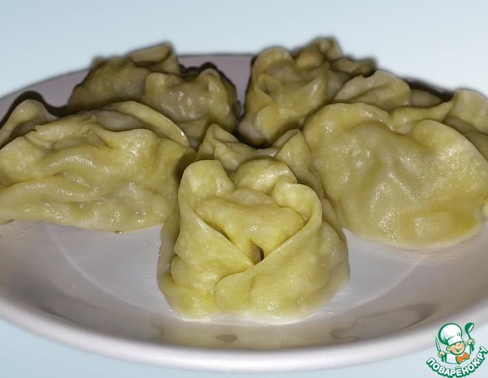 Рецепт: Манты по-казахски
