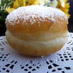 Пончики с джемом Берлинеры