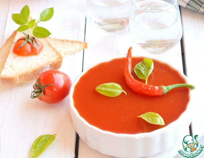 Рецепт: Печеночный паштет с томатным желе
