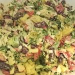 Салат из сладкого перца и фасоли
