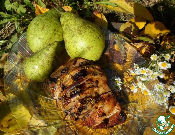 Рецепт: Свинина запеченная Мой каприз