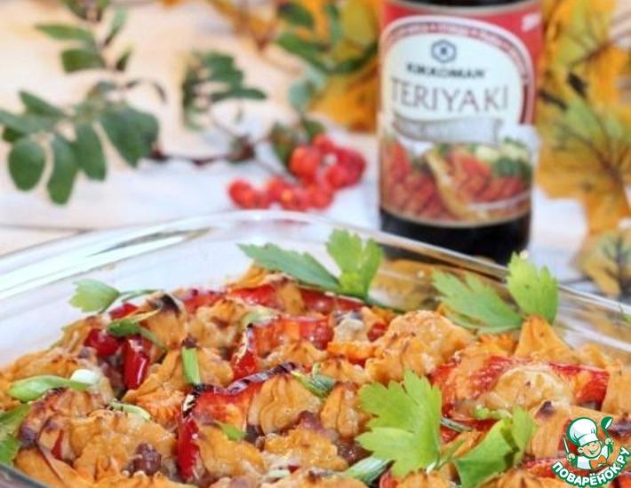 Рецепт: Свинина с овощами Оранжевое блюдо