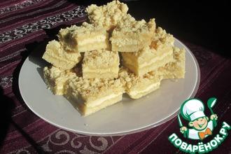Рецепт: Песочное печенье с творогом