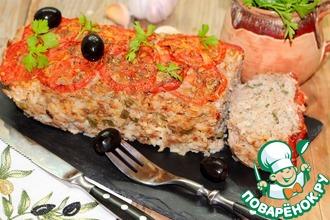 Рецепт: Мясной хлеб Средиземноморский