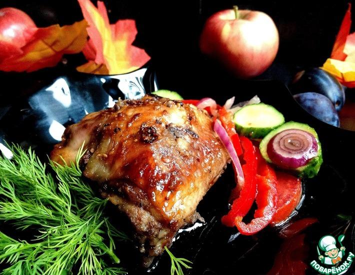 Рецепт: Курица Особая в осеннем маринаде