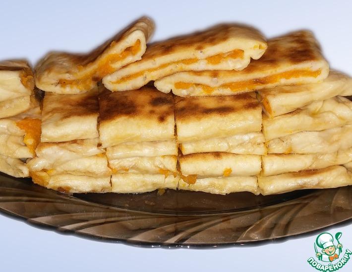 Рецепт: Лепешки с тыквой Хингалш
