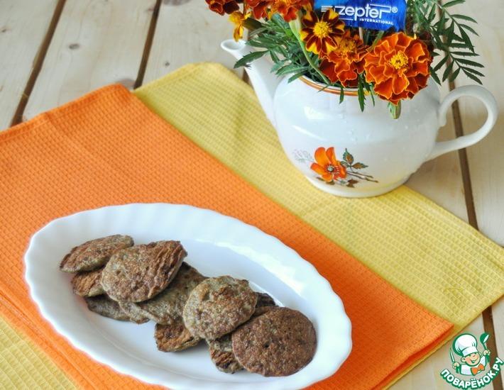 Рецепт: Печеночные оладьи с грибами