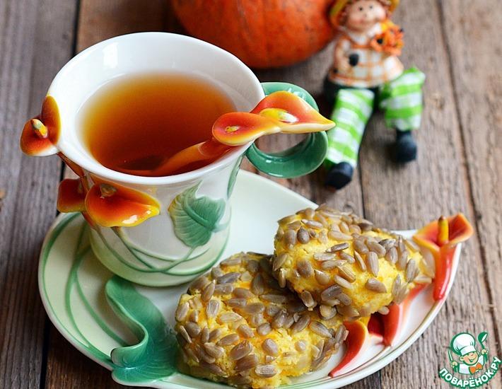 Рецепт: Сырники с тыквой в семечковой панировке