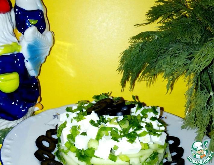 Рецепт: Салат Простофиля