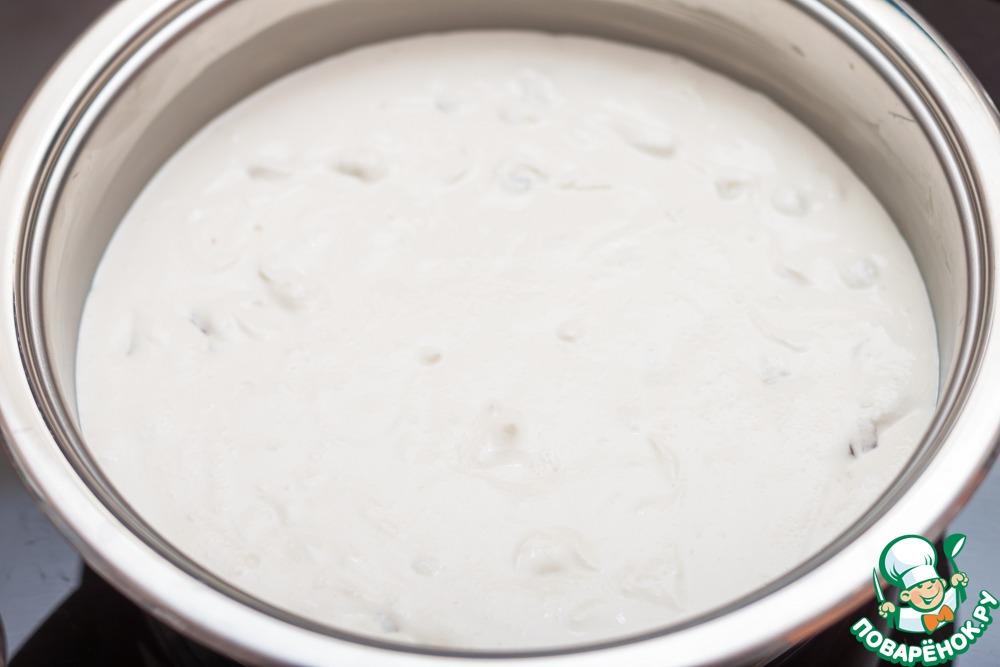 Творожная запеканка с белым шоколадом