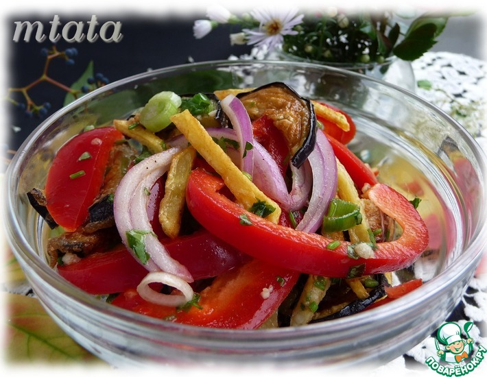 Рецепт: Салат из баклажанов