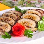 Рулеты из скумбрии с рисом и гречкой