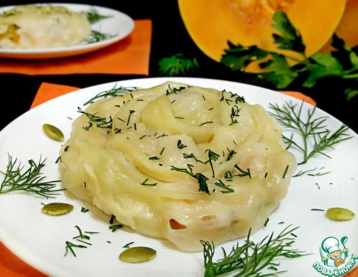 Рецепт: Гуль-ханум с курицей и тыквой