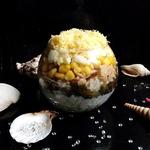 Салат-коктейль Подводные сокровища