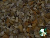 Ржаная галета с грибами ингредиенты