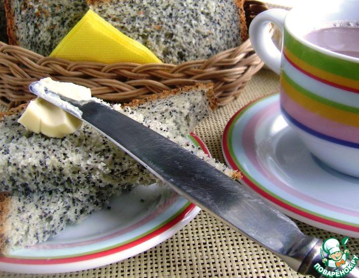Рецепт: Хлеб манно-маковый к завтраку