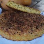 Тыквенно-овсяный хлеб с картофелем