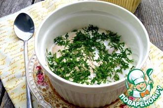 Рецепт: Яичница с мидиями на пару