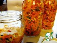 Заправка к горячим блюдам на зиму ингредиенты