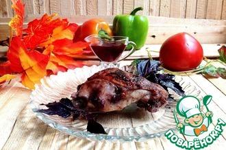 Рецепт: Курица Объедение