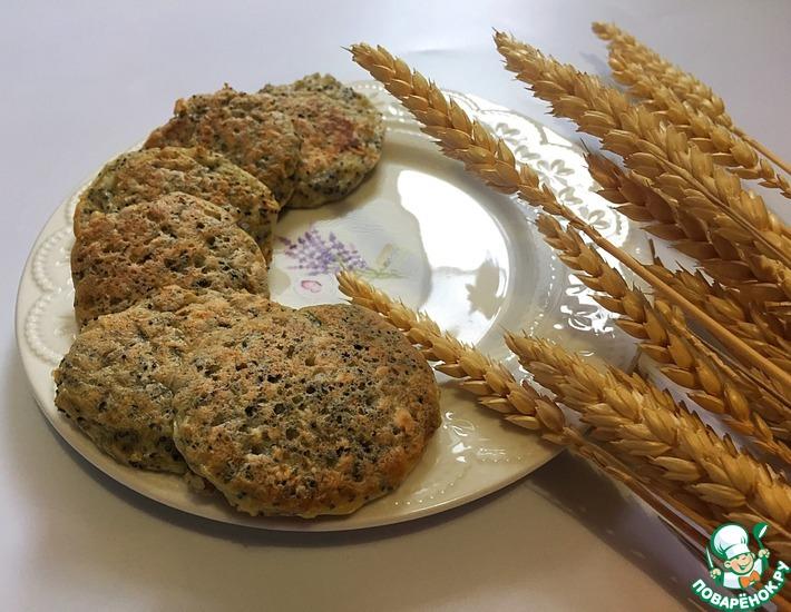 Рецепт: Маковые диетические оладьи