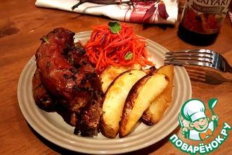 Рецепт: Изысканные шейки с картофелем