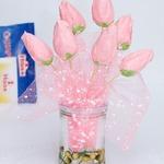 Пирожное-меренги Тюльпаны