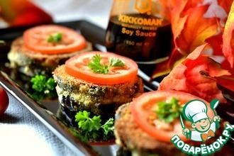 Рецепт: Сендвич из баклажана и цуккини