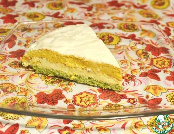 Рецепт: Овощной торт Светофор