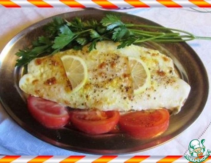 Рецепт: Рыба в лимонных сливках