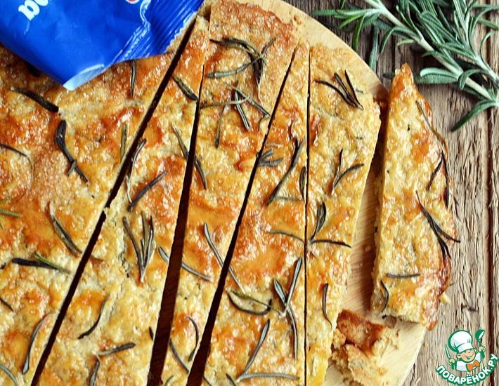 Рецепт: Шотландское печенье Шортбред с розмарином