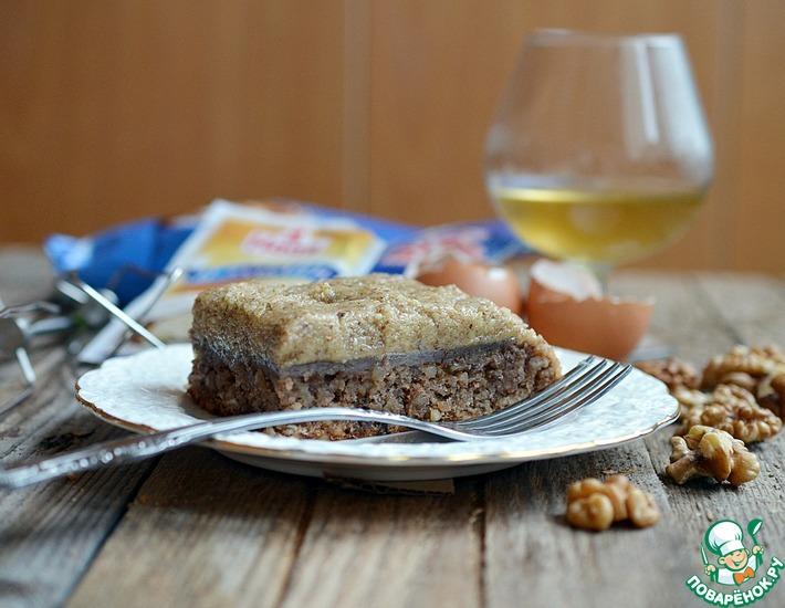 Рецепт: Гасконские ореховые пирожные