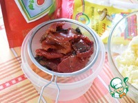 Закусочное масло с вялеными томатами ингредиенты