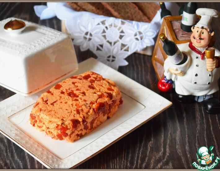Рецепт: Закусочное масло с вялеными томатами