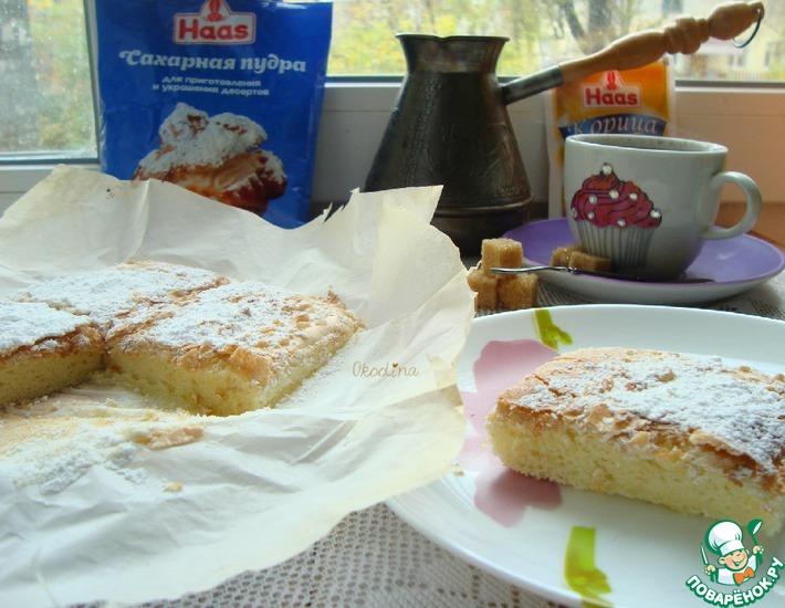 Рецепт: Моё ленивое печенье Савоярди