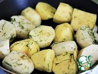 Картофель, запечённый в сливках ингредиенты
