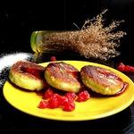 Сырники с кокосом и вишней Идеальные