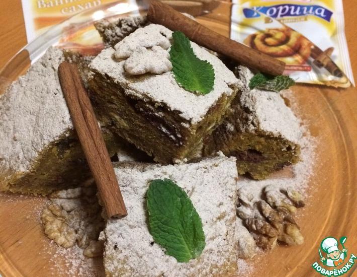 Рецепт: Пряный тыквенный пирог Американо