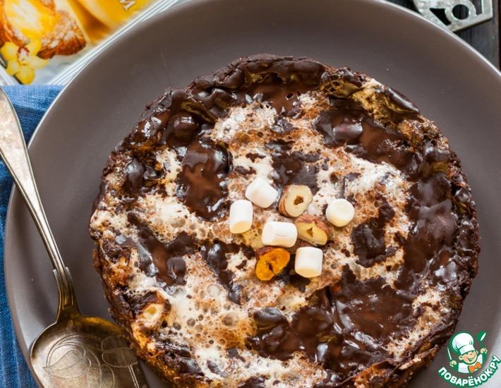 Рецепт: Шоколадный пирог Грязь Миссисипи