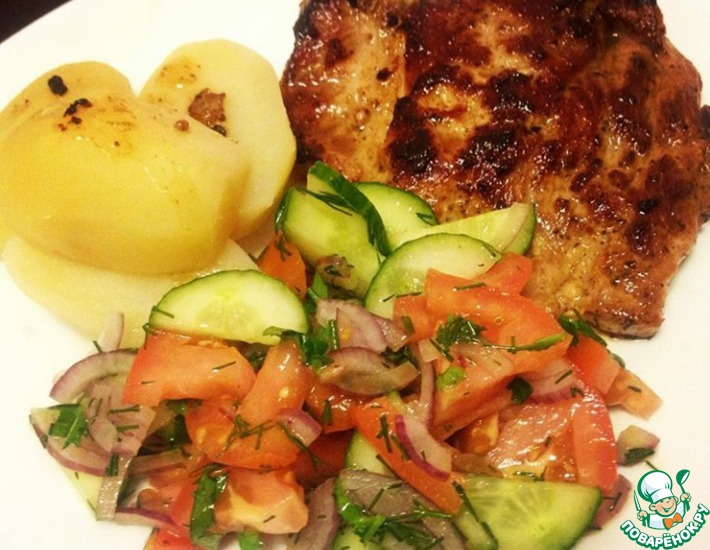 Рецепт: Супер-маринад для мяса