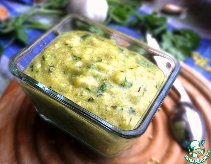 Рецепт: Грибной соус без грибов
