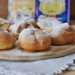 Выпрыгивающие булочки Поповеры с пудингом